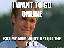 Get Off The Phone Meme - 1990s problems memes quickmeme