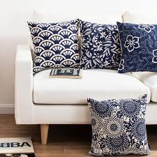 chinese style blue and white retro traditional patterns decorative