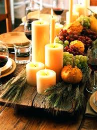 table decorations for thanksgiving simple thanksgiving table decorations view in gallery candles