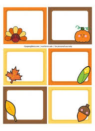 free fall labels fall crafts free printables