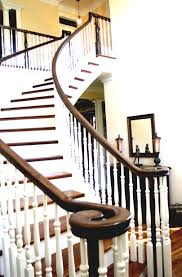 interior modern elegant baluster metal for stairs home on