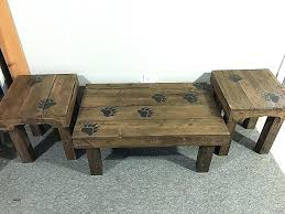 coffee table and end tables end tables made from pallets end tables made from pallets end tables
