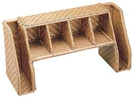 Wicker Desk Organizer This But A Bigger And A Thin Wood Not Wicker Things To