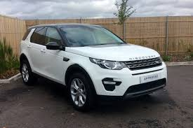 land rover discovery 2015 white used land rover discovery sport white for sale motors co uk
