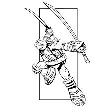 Nos jeux de coloriage Tortue ninja à imprimer gratuit  Page 10 of 12