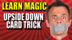 watch magic trick revealed learn upside down card trick an error occurred