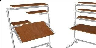Adjustable Drafting Tables Adjustable Desk Drafting Table Simplified Building