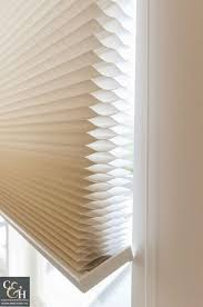 accessories pleated blinds and honeycomb blinds on large window