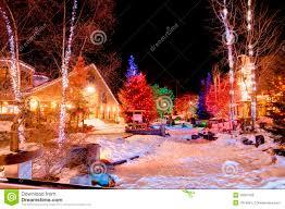 christmas at whistler royalty free stock image image 19397166