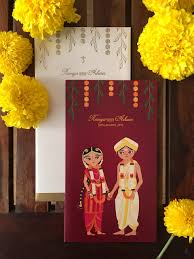 unique indian wedding cards meet radha ramachandran illustrator marigold tales