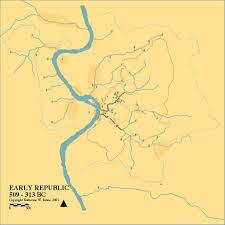 Study Of Maps Rome U2013 Hidden Hydrology