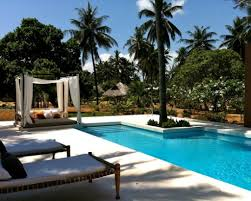 Tropical Patio Design Furniture Amazing Tropical Patio Design With Swimming Pool Dar