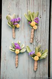 Wedding Boutonnieres Rustic Diy Wedding Boutonnieres Budget Friendly Beauty