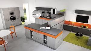 cuisine orange et noir davaus cuisine moderne noir et orange avec des idées