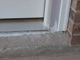 Door Thresholds For Exterior Doors Exterior Door Threshold Installation On Top Inspiration To Remodel