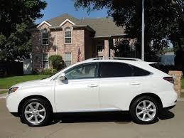 2012 lexus rx 350 white for sale 2012 lexus rx350 premium low miles navigation sunroof pearl white