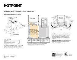 Hotpoint Dishwasher Manual Download Free Pdf For Hotpoint Hda3600r Dishwasher Manual