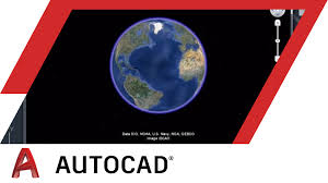 tutorial how to use the google earth plugin autocad youtube