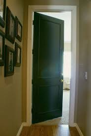Interior Doors Painted Black by 50 Best Black Images On Pinterest Architecture Wall Colors And Home