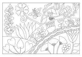 houck from the garden coloring cards