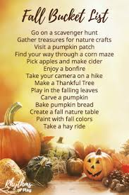 fall bucket list family guide for the best autumn ever rhythms