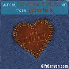 3rd wedding anniversary gifts traditional 3rd wedding anniversary gifts for him leather gift