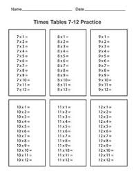 times tables practice sheets free printable multiplication worksheets worksheets