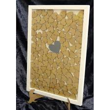 wedding guest book picture frame guest book frame drop box wedding laser cut wooden guestbook for