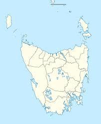 map of tasmania australia file australia tasmania location map svg wikimedia commons