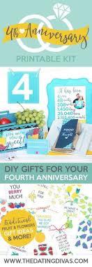 4 year wedding anniversary gift ideas for 4 years together linen anniversary print 4th wedding anniversary