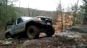 1988 jeep comanche 1988 jeep comanche off road climbing youtube