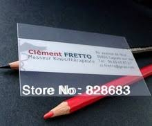 500 Business Cards For Free Transparent Business Cards Promotion Shop For Promotional