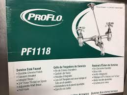pf1118 proflo wash tub service sink large faucet laundry pro flo
