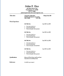 Sample Resume Simple by Good Looking Sample Of A Simple Resume Extremely Resume Cv Cover