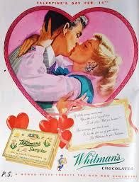 retro valentines retro s day whitman s sler ads