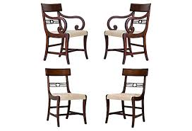 Regency Dining Chairs Mahogany English Regency Dining Chairs Janney U0027s Collection