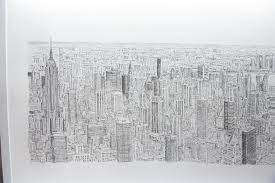 incredible artist spends five days drawing the empire state
