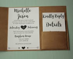 customized wedding invitations classic rustic wedding invite envelopes