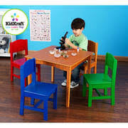 kids table and chairs walmart kids table chair sets walmart com