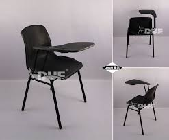 Industrial Armchair Training Chair With Tablet Study Chair Industrial Furniture