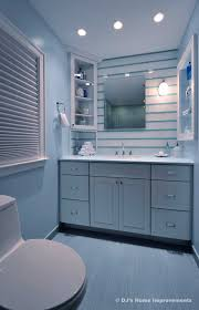 bathroom setting ideas decoration innovative modern storage inspiration in light blue