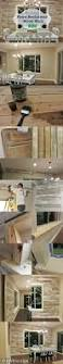 diy faux reclaimed wood wall put up a