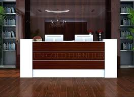 Office Counter Desk Office Counter Desk Reception With Modern Table Front Design