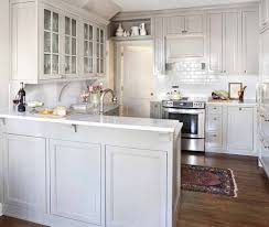 so beautiful white counters light silver grey cabinets only thing