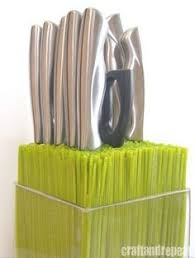 kitchen knives holder smart way to store knives between glass and wood you can see the