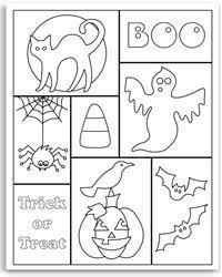 halloween color pages free u2013 fun christmas