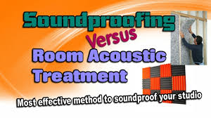 Soundproofing Pictures by Soundproofing Vs Room Acoustic Treatment Best Soundproofing