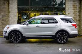 Ford Explorer Upgrades - ford explorer with 22in lexani css15 wheels exclusively from