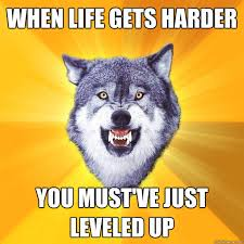Meme Courage Wolf - 20 surprisingly motivational memes from the courage wolf thewebtrovert
