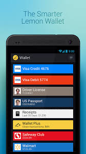 store cards app lemon wallet an app for storing payment and loyalty cards